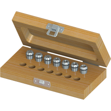 ER11 Collet Set (Inch) - 7pc with Box