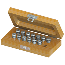 ER11 Collet Set (Metric) - 13pc with Box