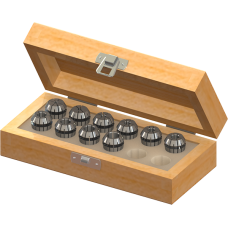 ER16 Collet Set (Inch) - 10pc with Box