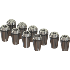 ER16 Collet Set (Metric) - 10pc