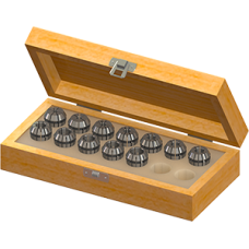 ER20 Collet Set (Inch) - 12pc With Box