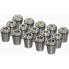 ER25 Collet Set (Inch) - 15pc