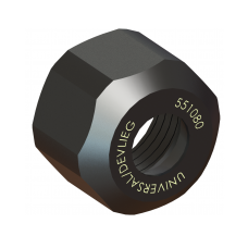 1/4 Capacity (OW) Double Taper Collet Nut